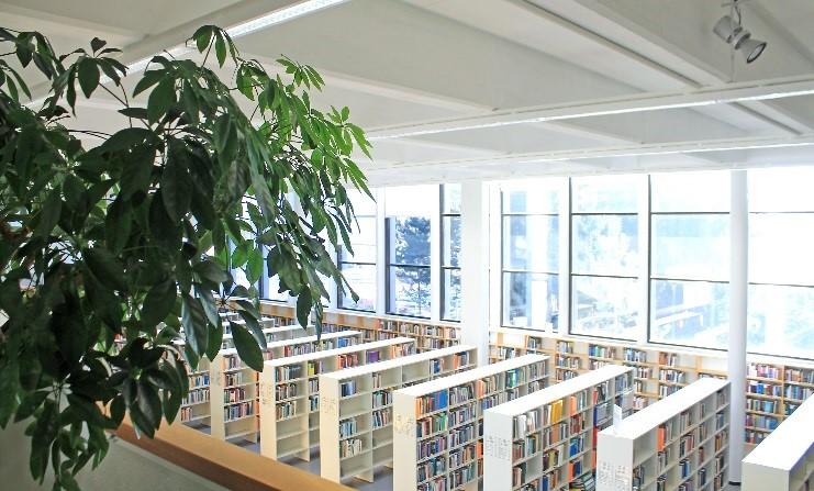 Lappeenrannan tiedekirjasto. Kuva: Paula Savelius
