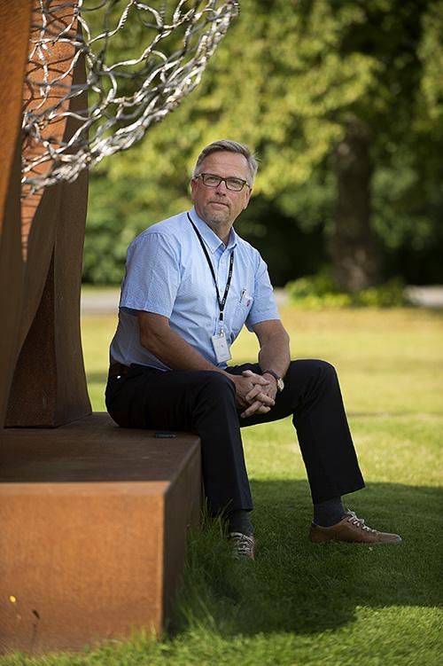 Hannu Ikonen JAMKin Koulutuksen kehittämispäällikkö.