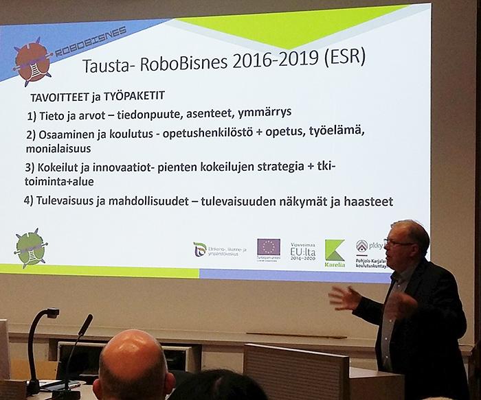 projektipäällikkö Ari Tarkiainen