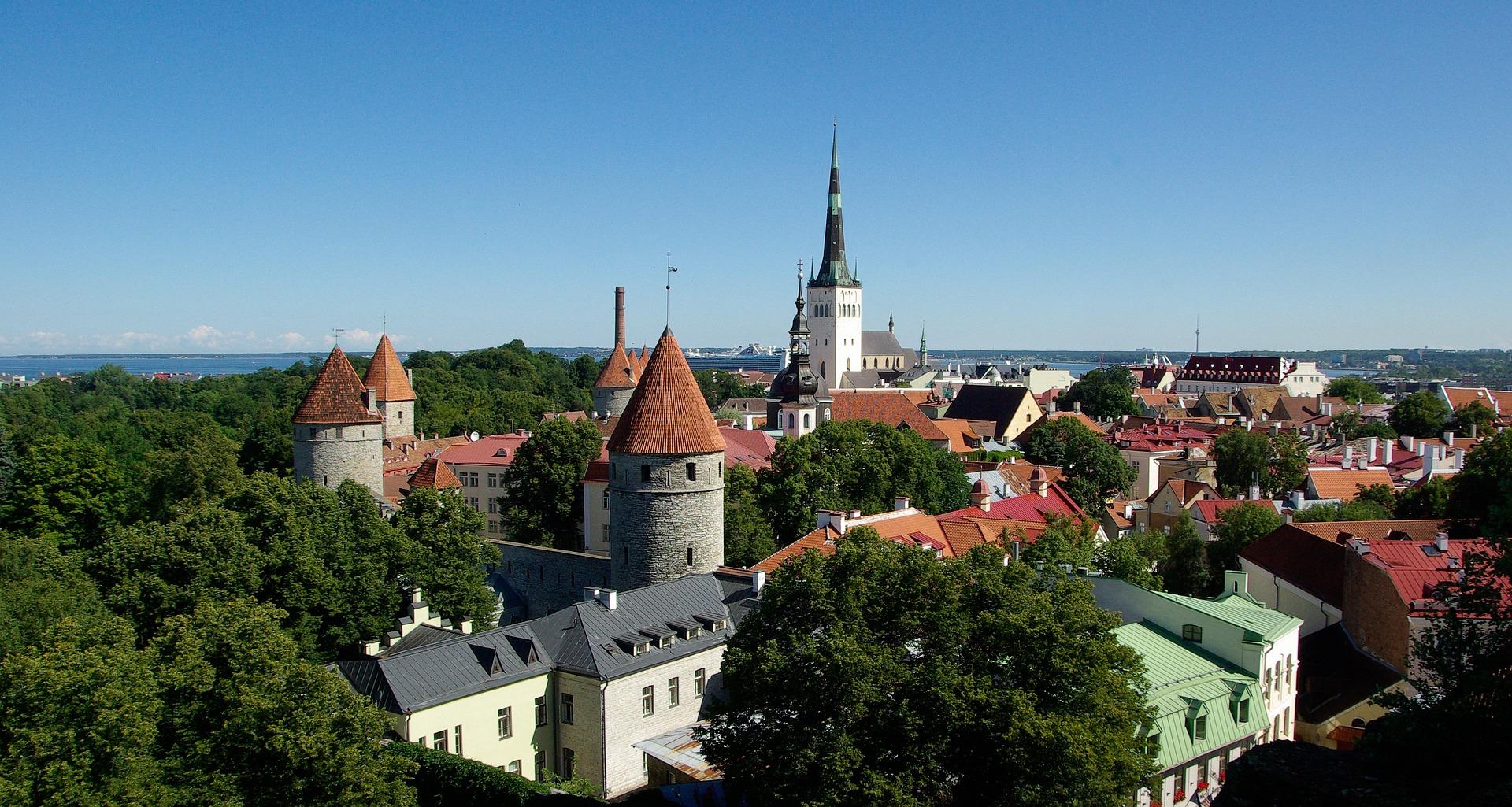 Tallinnan maisemaa