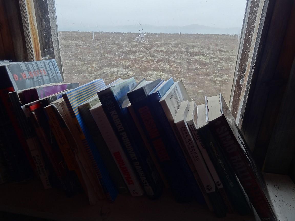 Kuva 6. Kirjaston ikkunoista avautuu ainutlaatuiset näköalat.