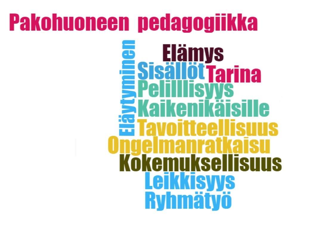 Pakopelin pedagogiikka: Pakopelin pedagogisia ominaisuuksia