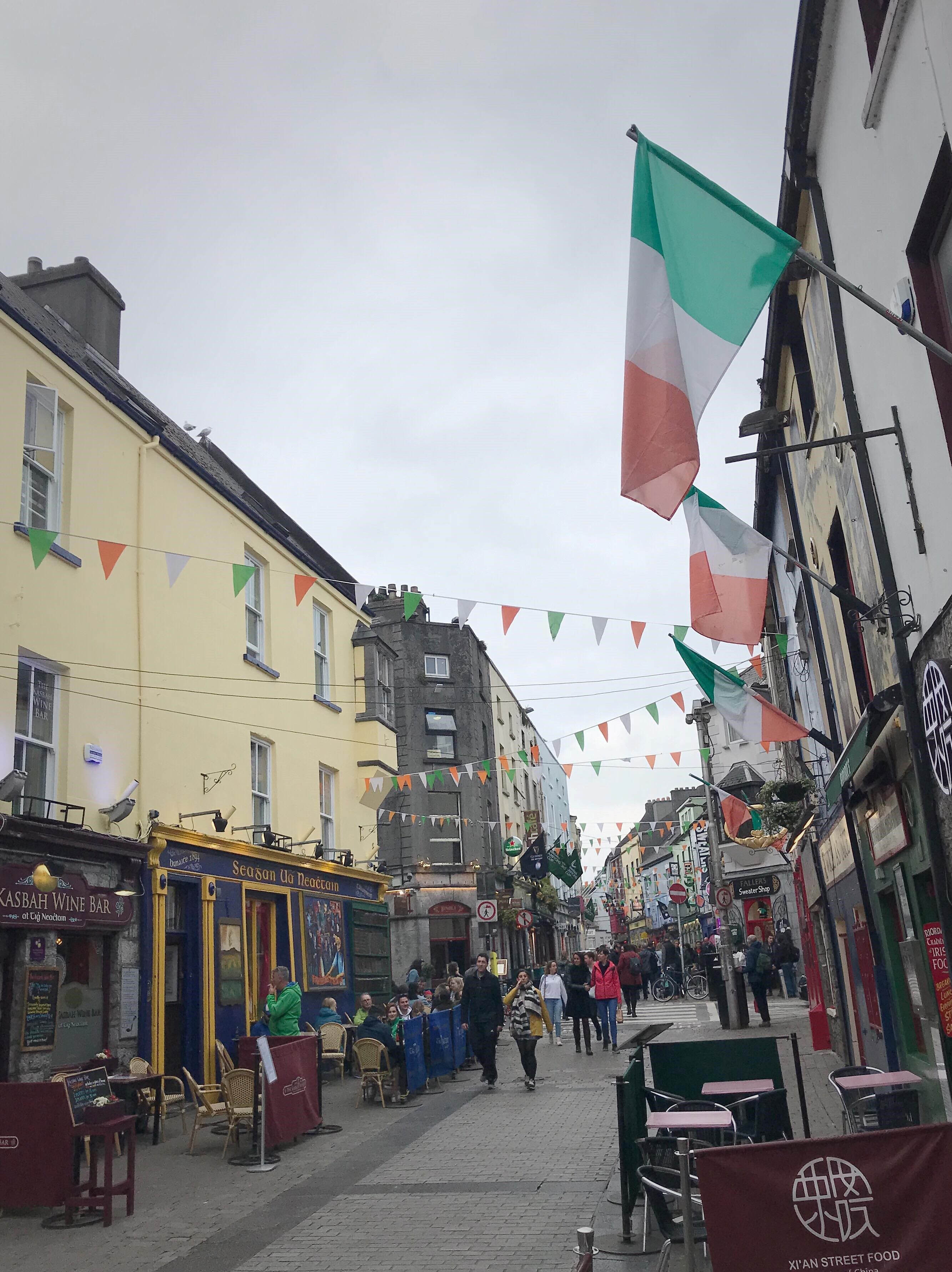 Galwayn katukuvaa.
