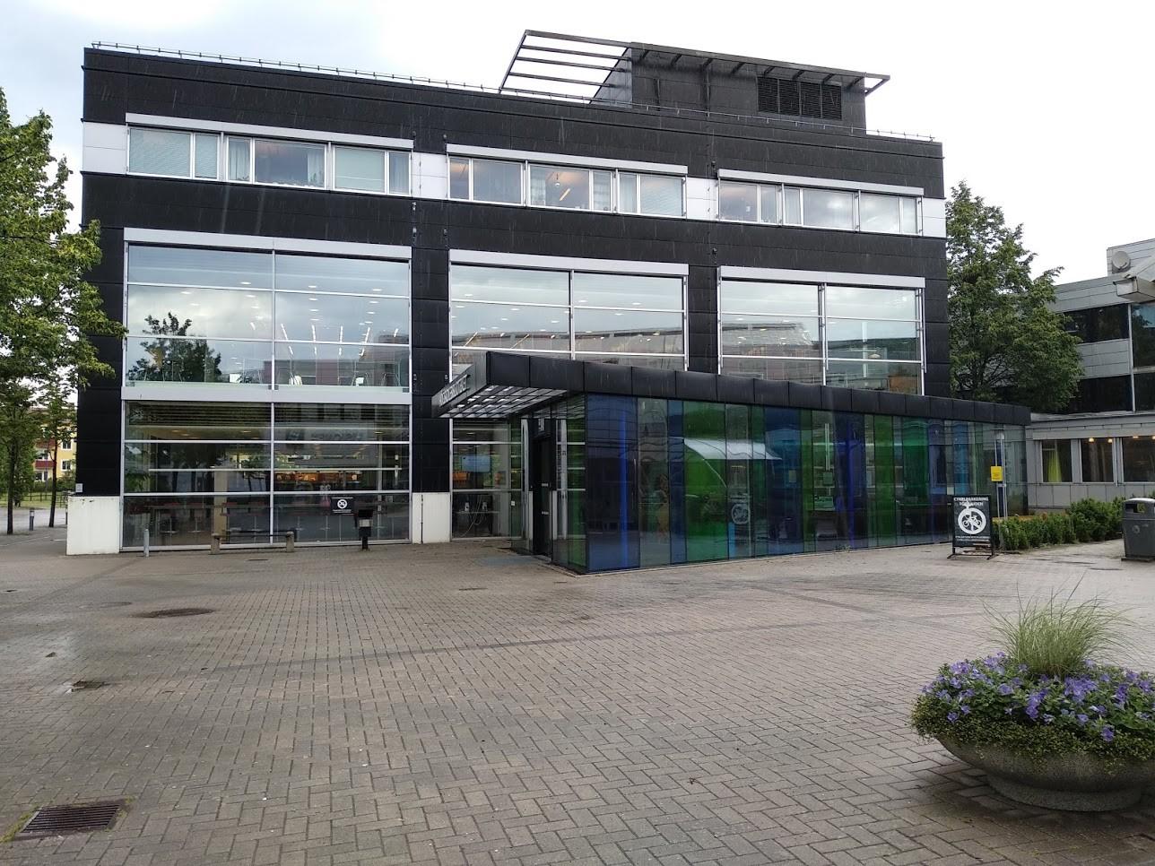 Högskolans bibliotek.