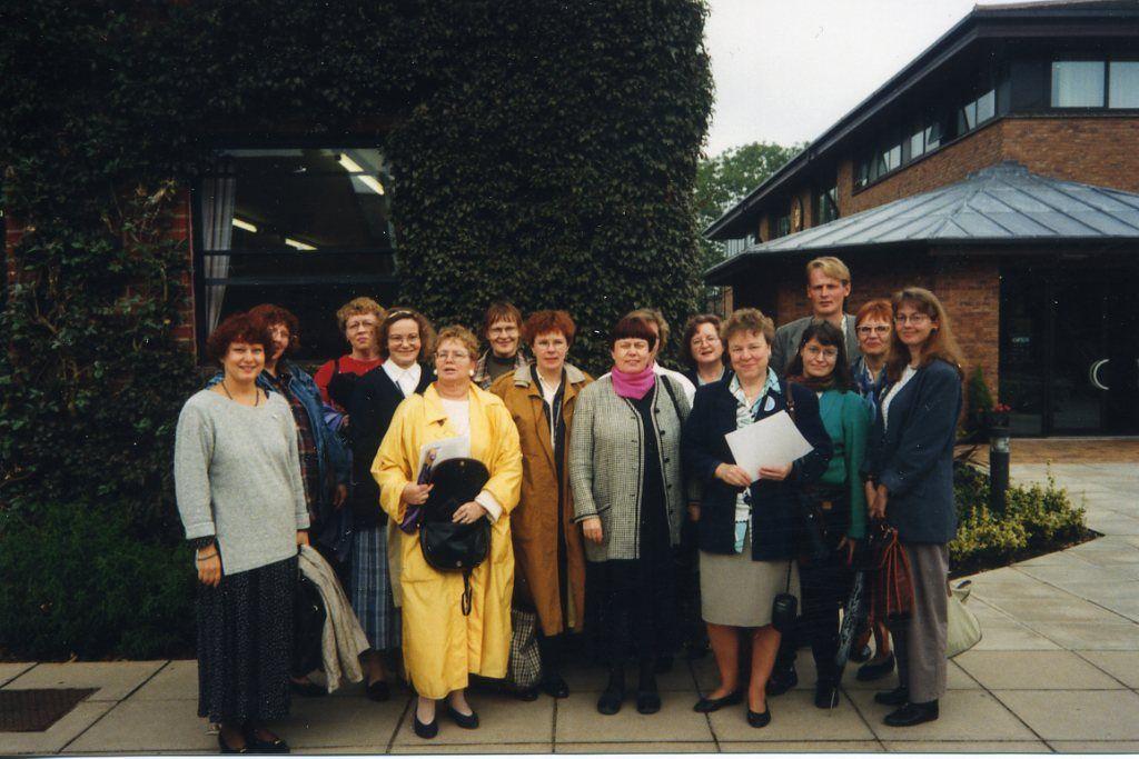 Opintomatka Cambridgeen 1995.
