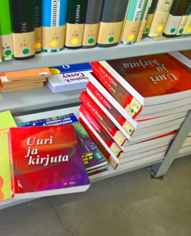 Kaikille tuttu Tutki ja kirjoita on käytössä myös Pärnun kampuksella. (Kuva Tiina Mäntylä)